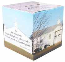 church coin bank cardboard fiber