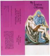 $10.00 Pieta Lenten Offering Coin Folder (Pkg of 50)