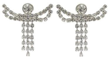 Angel Rhinestone Earrings