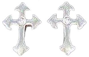Cross Earrings Stainless Steel