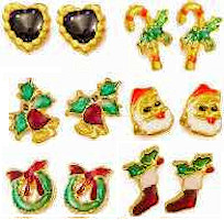 Petite Christmas Earrings