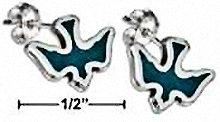 Sterling Silver Spirit Dove Earrings