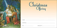 Christmas Nativity Offering Envelopes (Pkg of 100)