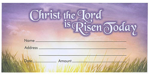 Christ the Lord Offering Envelope (Pkg of 100)