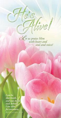 He is Alive Easter Offering Envelope (Pkg of 100)