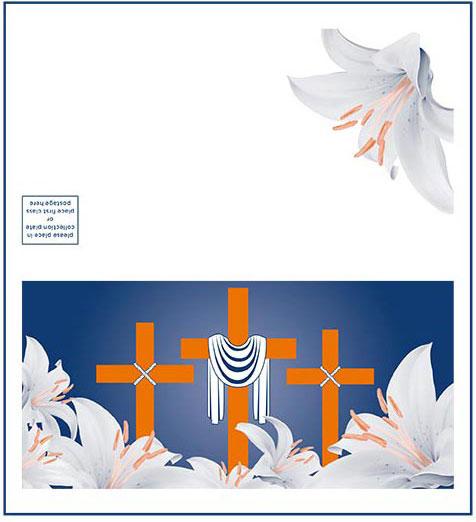 Lent Offering Envelope for Credit Cards (Pkg of 500)