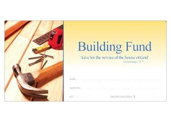 Church Building Fund Envelopes (Pkg of 100)