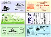 2 color Church Envelopes budget envelope