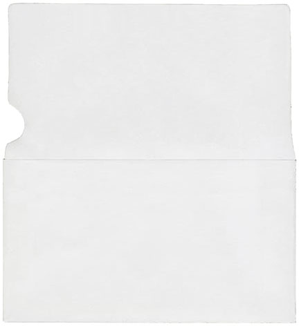 Blank 6 3/4 Remittance Long Flap Envelope with Notch (Box of 900)