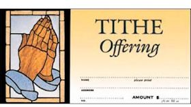 Church Tithing Offering Envelopes (Pkg of 100)
