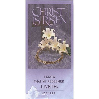 Christ is Risen Lent Envelope