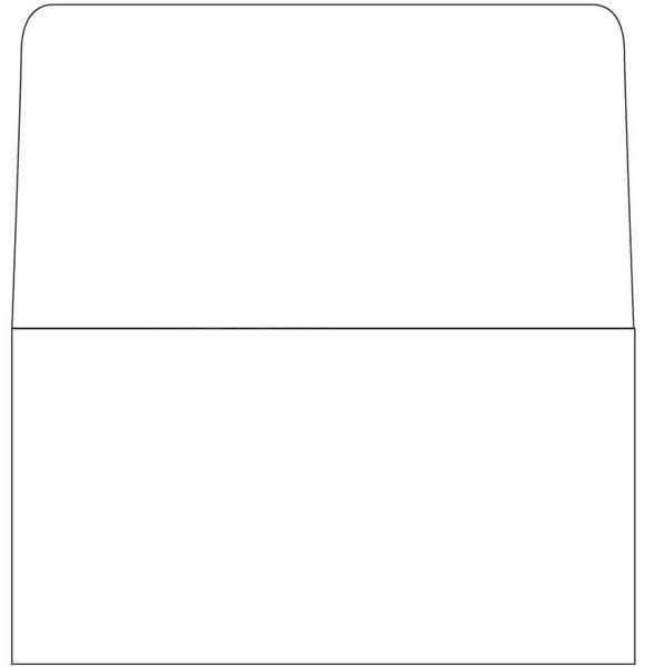 Blank 6 3/4 Remittance Long Flap Envelopes (Box of 1000)