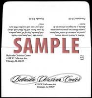 Custom #9 Remittance Long Flap Envelopes