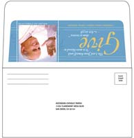 Custom Long Flap Envelopes, 4 Colors on Two Sides (1000 Min)