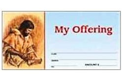 Jesus My Offering Church Envelopes (Pkg of 500)