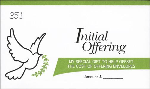Children's Church Offering Envelope 52 Week Sets