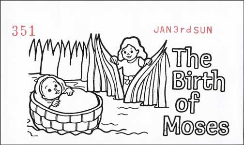 Children's Church Offering Envelope
