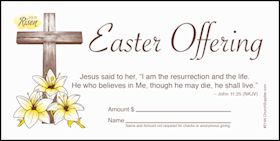 Easter Offering Church Envelope (Pkg of 100)