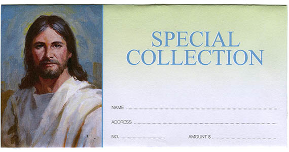 Special Collection Envelopes (Pkg of 100)