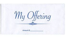 Church My Offering Pew Envelopes (100)