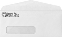 Printed Business Window Envelopes (1000 Minimum)