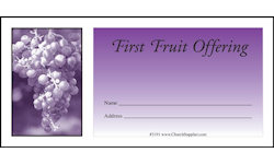 Fruit of the Spirit Church Offering Envelopes (Pkg of 500)