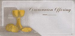 Church Communion Envelopes