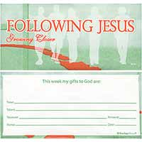 4207 Follow Jesus Church Envelope