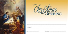 Christmas Manger Scene Envelopes (Pkg of 100)