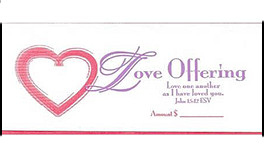 Church Love Offering Envelope