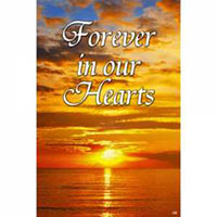 Forever in Our Hearts Garden Flag