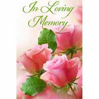 In Loving Memory Garden Flag