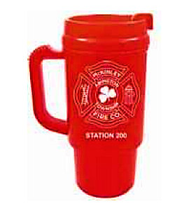 Fire Station Auto Coffee Mugs Custom Imprint