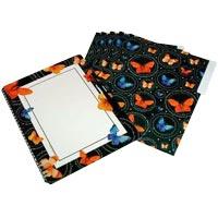 5 Presentation Folders & Magnetic Write-N-Wipe Board