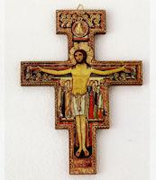 San Damiano Wall Cross  5.5 Inches