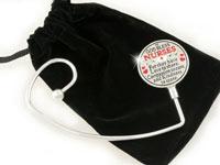 God Bless Nurses Handbag Holder