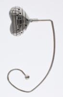 Musical Heart Handbag Holder