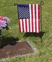 Cemetery or Home Flag Stands (Set of 2)