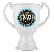 Best Coach Ever - Trophy Gift Mugs