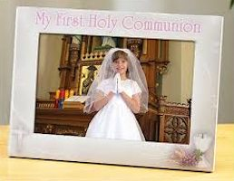 Girl's First Holy Communion Photo Frame
