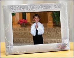 Boy First Holy Communion Picture Frame