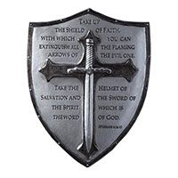 Armor of God Shield Wall Plaque