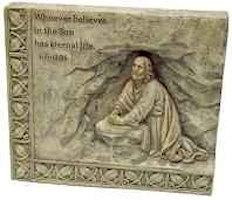 Whoever Believes in the Son Stone Plaque