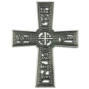 The Lord Bless You & Keep You Wall Cross