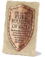 Chistian Put on the Full Armor of God Plaque