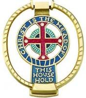 Christ is the Head of This House Hold Door Knocker