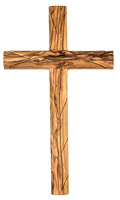 10 Inch Olive Wood Wall Cross