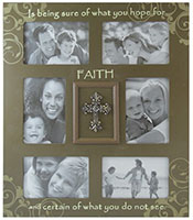 Large Faith 6 Photo Frame