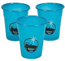 Believe Nativity Disposable Plastic Cups (Pkg of 50)