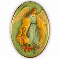 Christmas Angel Lapel Pin